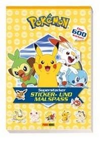 [해외]Pokemon: Superstarker Sticker- und Malspass