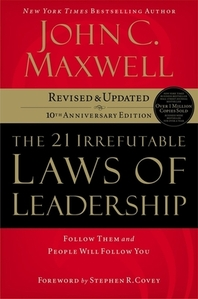 [해외]The 21 Irrefutable Laws of Leadership (Hardcover)