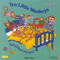 [해외]Ten Little Monkeys Jumping on the Bed