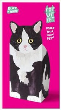 [해외]Pop Up Pet Black & White Cat