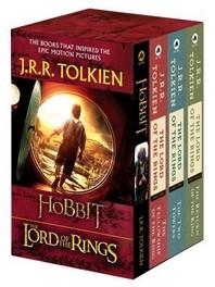 J.R.R. Tolkien 4-Book Boxed Set (Movie Tie-in)