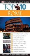 DK Eyewitness Top 10 Travel Guides Rome