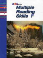 MULTIPLE READING SKILLS LEVEL. F(Paperback) 26p까지 펜문제풀이후 펜채점 / 공부한부분 문제풀이 불가능 / 총11장 문제풀이함