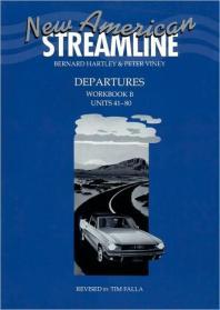 New American Streamline Departures Workbook B -표지 낡음/내부 사용감없이 깨끗