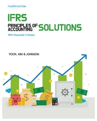 IFRS Principles of Accounting in keywords in korean Solutions, 4th edition