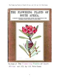 남아프리카 공화국의 꽃을 피는 식물들 제1권.The Flowering Plants of South Africa; vol.1/3, by I.B. Po