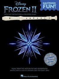 [해외]Frozen 2 - Recorder Fun! Songbook with Easy Instructions, Song Arrangements, and Coloring Pages