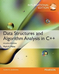 Data Structures and Algorithm Analysis in C++  (Paperback)