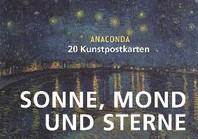 [해외]Postkartenbuch Sonne, Mond und Sterne