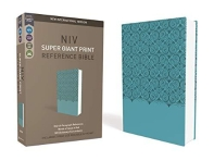 [해외]NIV, Super Giant Print Reference Bible, Imitation Leather, Blue, Red Letter Edition
