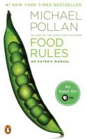 [해외]Food Rules (Paperback)
