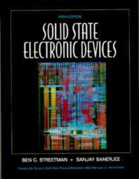 Solid State Electronic Devices, 5/E