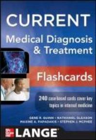 [해외]Current Medical Diagnosis and Treatment Flashcards (Hardcover)