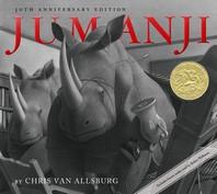 [베오영] Jumanji (Book & CD) 측면위,옆부분및 맨앞페이지에 스템프 도장 찍혀 있습니다 / CD부록 없습니다