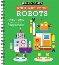 [해외]Sticker Puzzles Robots