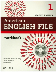 American English File 1 WB with ciChecker