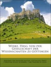 Carl Friedrich Gauss Werke.