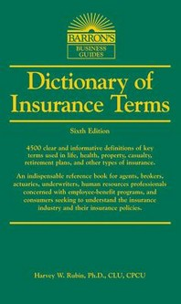 [해외]Dictionary of Insurance Terms