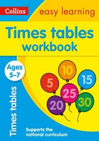 [해외]Collins Easy Learning Age 5-7 -- Times Tables Workbook Ages 5-7 (Paperback)