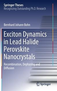 [해외]Exciton Dynamics in Lead Halide Perovskite Nanocrystals