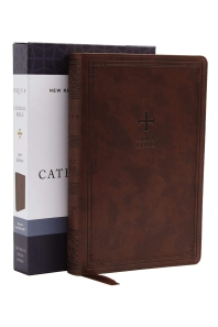 Nrsv, Catholic Bible, Gift Edition, Leathersoft, Brown, Comfort Print