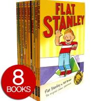 Flat Stanley 8 Set Pack - 페이퍼북 8권 SET