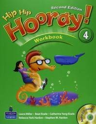 HIP HIP HOORAY. 4(WORK BOOK)(SECOND EDITION)(CD1장포함)