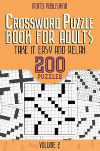 Crossword Puzzle Book for Adults