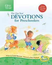 [해외]The One Year Book of Devotions for Preschoolers (Hardcover)