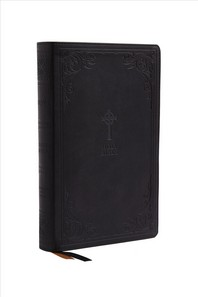 [해외]Nrsv, Catholic Bible, Gift Edition, Leathersoft, Black, Comfort Print (Imitation Leather)
