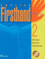 ENGLISH FIRSTHAND 2 S/B
