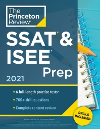 Princeton Review SSAT & ISEE Prep, 2021