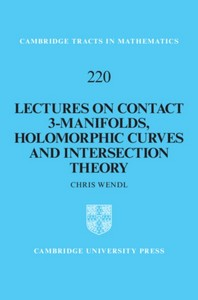 [해외]Lectures on Contact 3-Manifolds, Holomorphic Curves and Intersection Theory