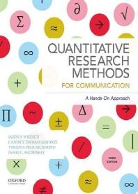 [해외]Quantitative Research Methods for Communication