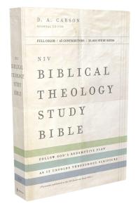 [해외]NIV, Biblical Theology Study Bible, Hardcover, Comfort Print (Hardcover)