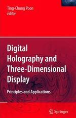 [해외]Digital Holography and Three-Dimensional Display