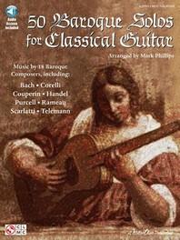 [해외]50 Baroque Solos for Classical Guitar [With CD]