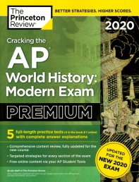 Cracking the AP World History Premium(2020)