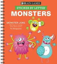 [해외]Sticker Puzzles Monsters