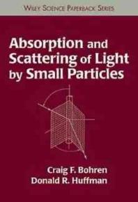 [해외]Absorption and Scattering of Light by Small Particles