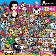[해외]Tokidoki 2020 Wall Calendar