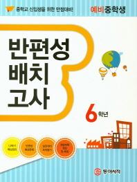 반편성 배치고사 초등 6학년(예비중)(2017)
