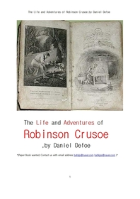 로빈슨 크로소의 삶과 모험.The Life and Adventures of Robinson Crusoe,by Daniel Defoe