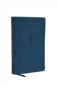[해외]Nrsv, Catholic Bible, Gift Edition, Leathersoft, Teal, Comfort Print (Imitation Leather)