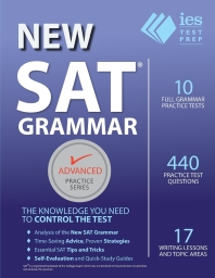 New SAT Grammar Workbook ( Advanced Practice #8 )