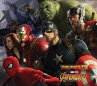 The Road to Marvel's Avengers: Infinity War [마블 어벤저스 인피니티 워 공식 컨셉 아트북]