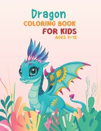 [해외]Dragon coloring book for kids ages 9-12