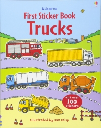 First Sticker Book : Trucks