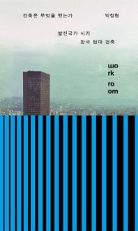건축은 무엇을 했는가: 발전국가 시기 한국 현대 건축
