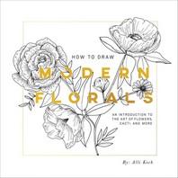 [해외]How to Draw Modern Florals (Paperback)